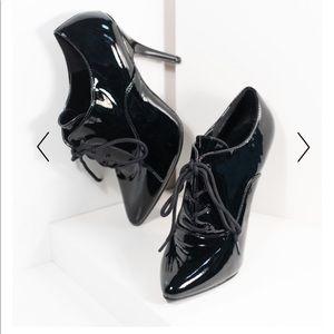 Pleaser Oxford Patent Stilettos